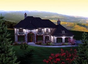Traditional House Plan 93197 Elevation