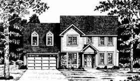 Plan Number 93342 - 1950 Square Feet
