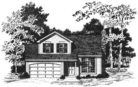 Plan Number 93359 - 1326 Square Feet