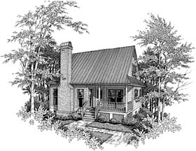 Plan Number 93424 - 1028 Square Feet