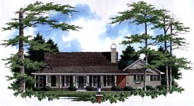 Country House Plan 93455 Elevation