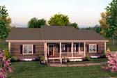 Plan Number 93480 - 1500 Square Feet