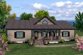 Plan Number 93482 - 1597 Square Feet