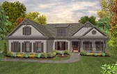 Plan Number 93491 - 1800 Square Feet