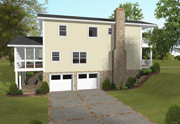 Colonial, Southern House Plan 93494 with 3 Beds, 4 Baths, 2 Car Garage Picture 1