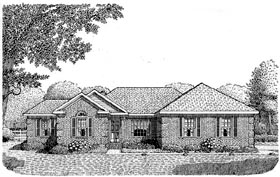 Plan Number 93702 - 1605 Square Feet