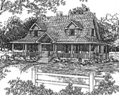 Plan Number 94003 - 2000 Square Feet