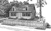 Plan Number 94004 - 1300 Square Feet