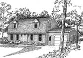 Plan Number 94005 - 1561 Square Feet