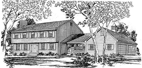 Farmhouse House Plan 94006 Elevation