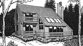 Plan Number 94014 - 1471 Square Feet