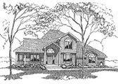 Plan Number 94021 - 2100 Square Feet