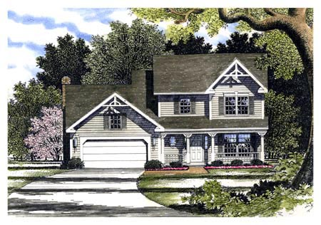 Country Southern House Plan 94100 Elevation