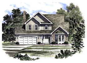 Country House Plan 94114 Elevation