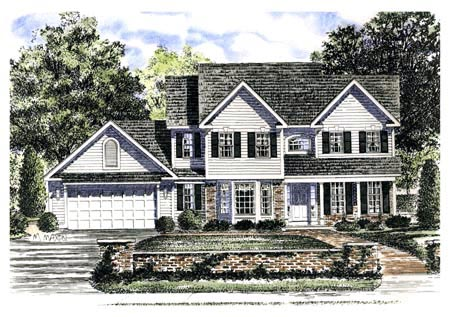 Country House Plan 94143 Elevation