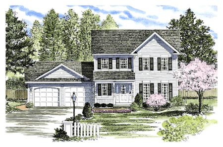 Country House Plan 94144 Elevation