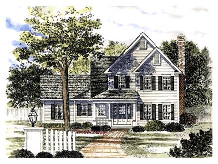 Country House Plan 94146 Elevation