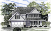 Plan Number 94156 - 1696 Square Feet
