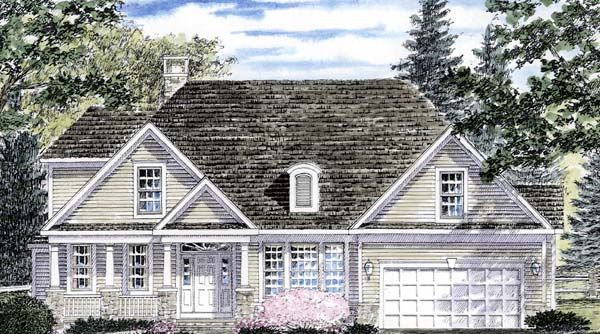 Traditional House Plan 94161 Elevation
