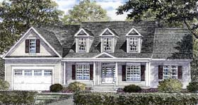House Plan 94163 | Country Traditional Style Plan with 2843 Sq Ft, 3 Bedrooms, 3 Bathrooms, 2 Car Garage Elevation