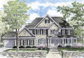 Plan Number 94170 - 3859 Square Feet