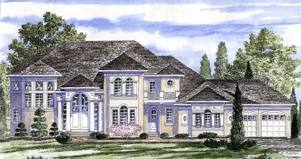 Traditional House Plan 94171 Elevation