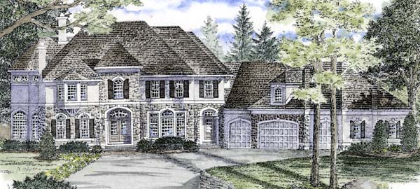 Traditional House Plan 94172 Elevation