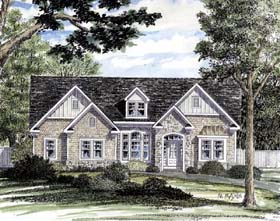 Ranch Traditional House Plan 94190 Elevation