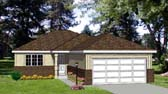 Plan Number 94303 - 1013 Square Feet