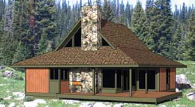 Cape Cod House Plan 94309 Elevation