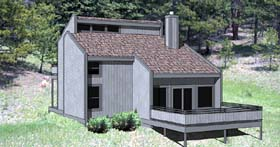 Plan Number 94311 - 1370 Square Feet
