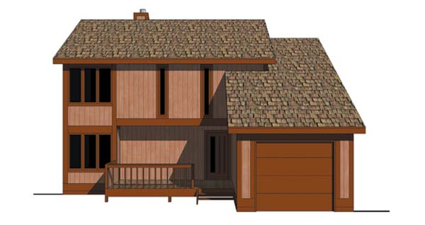 Contemporary House Plan 94314 Elevation
