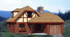 Tudor House Plan 94317 Elevation
