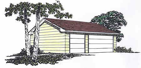 Garage Plan 94338 Elevation