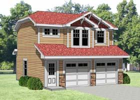 Garage Plan 94340 Elevation
