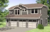 Plan Number 94341 - 723 Square Feet