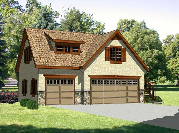 Garage Plan 94342 Elevation