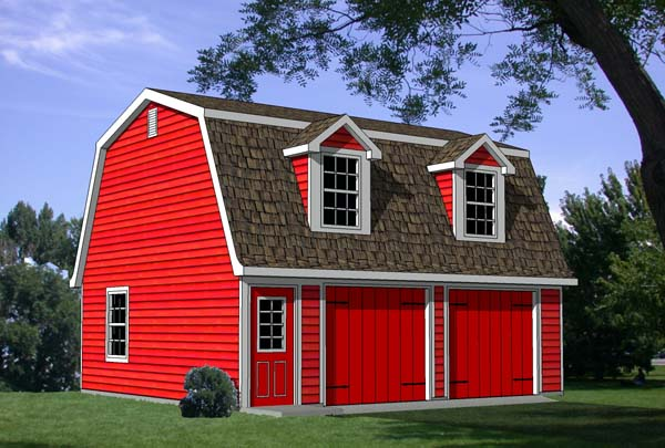 Garage Plan 94343 Elevation