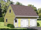 Garage Plan 94344