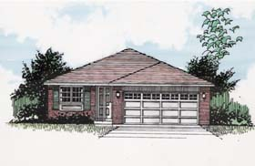 Traditional House Plan 94376 Elevation