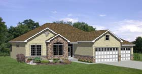 Traditional House Plan 94388 Elevation