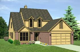 Country House Plan 94401 Elevation