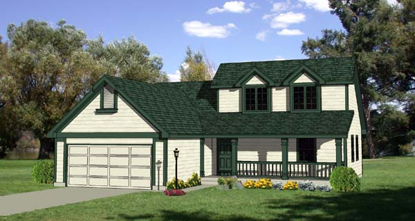 Country House Plan 94410 Elevation
