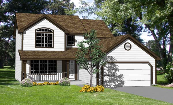 Country House Plan 94414 Elevation