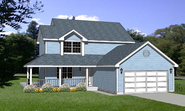 Country House Plan 94415 Elevation