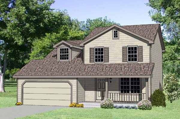 Country House Plan 94420 Elevation