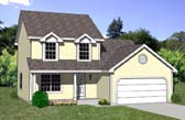 Plan Number 94421 - 1442 Square Feet