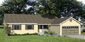 Plan Number 94432 - 1392 Square Feet