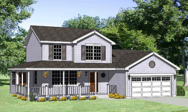 Country House Plan 94441 Elevation