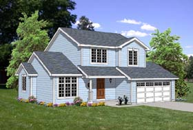 Traditional House Plan 94443 Elevation